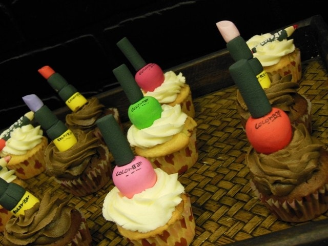 Colorbar Cup Cakes