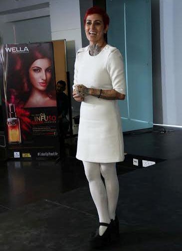 Sapna Bhavnani at Wella Event