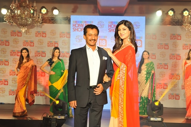 Shilpa Shetty Kundra Sarees at HomeShop18