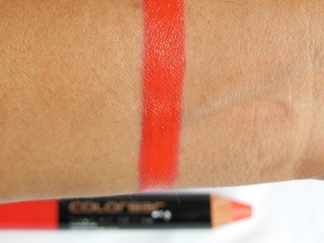 Colorbar Take Me As I Am Lip color Peachy Pink Swatch