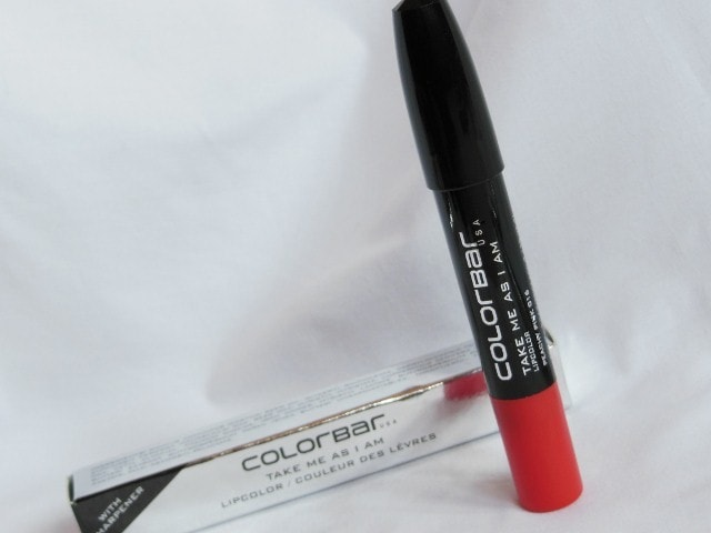 Colorbar Take Me As I Am Peachy Pink Lip color