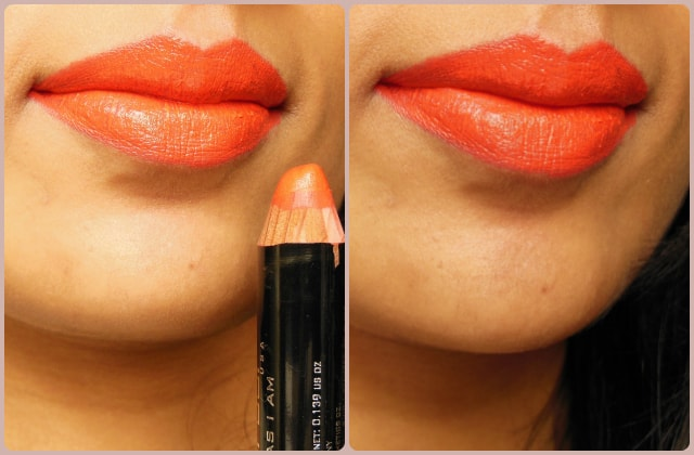 Colorbar Take Me As I Am Peachy Pink Lip color LOTD