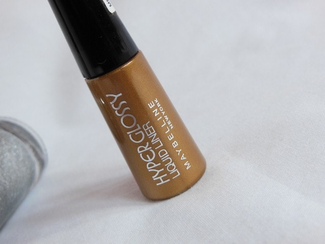 Maybelline HyperGlossy Electric Liquid Eye Liner Gold-iation