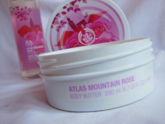 The Body Shop Atlas Mountain Rose Body Butter Packaging