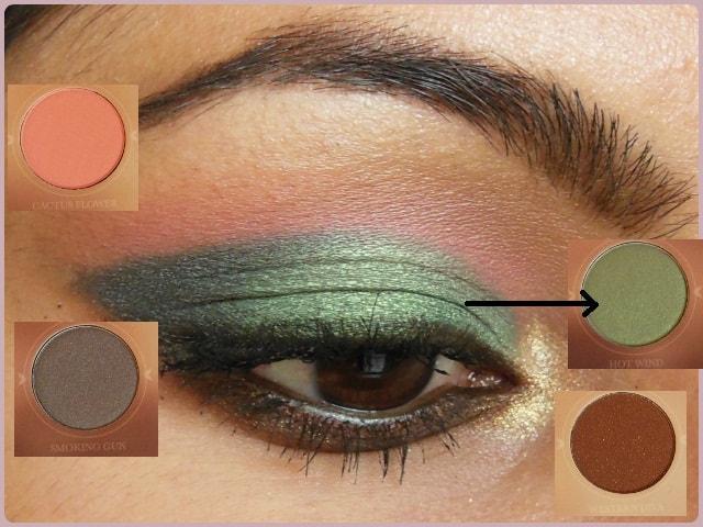 Zoeva Rodeo Belle Eye Shadow Palette EOTD details 2