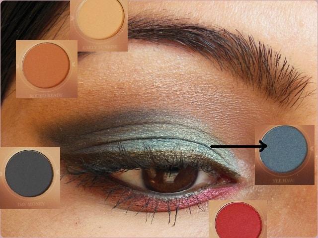 Zoeva Rodeo Belle Eye Shadow Palette EOTD details