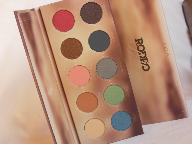 Zoeva Rodeo Belle Eye Shadow Palette Review