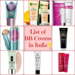 List of BB creams in India