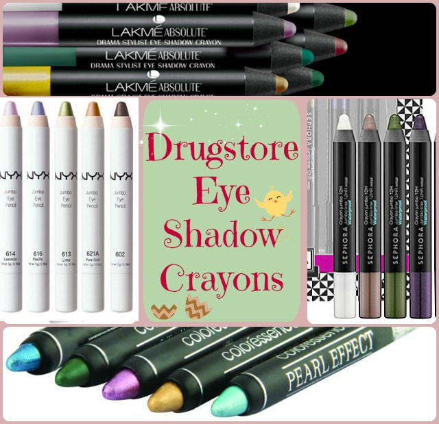Best Drugstore Cream Eye Shadows - Drugstore Cream Eye Shadow Crayons
