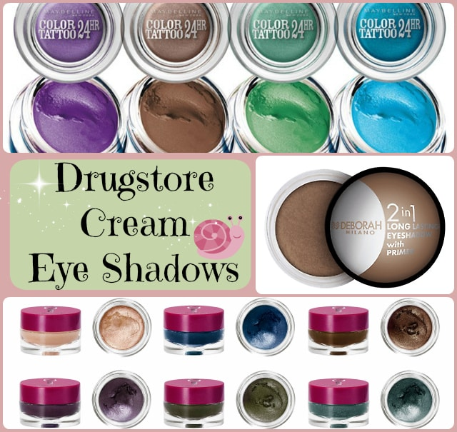 Best Drugstore Cream Eye Shadows - Drugstore Cream Eye Shadows