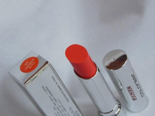 Colorbar Sheer Creme Lipstick Orange Bliss
