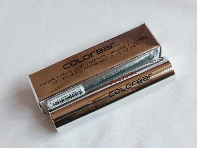 Colorbar Sheer Creme Lust Lipstick