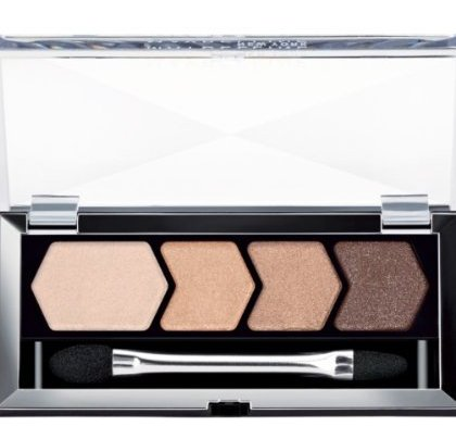 Drugstore Eye Shadow Palettes - Maybelline-Diamond Glow Quad Eye Shadow Copper