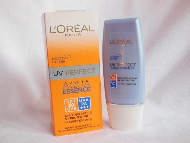 L'Oreal Paris Aqua  Essence UV Perfect SPF 30 Sunscreen