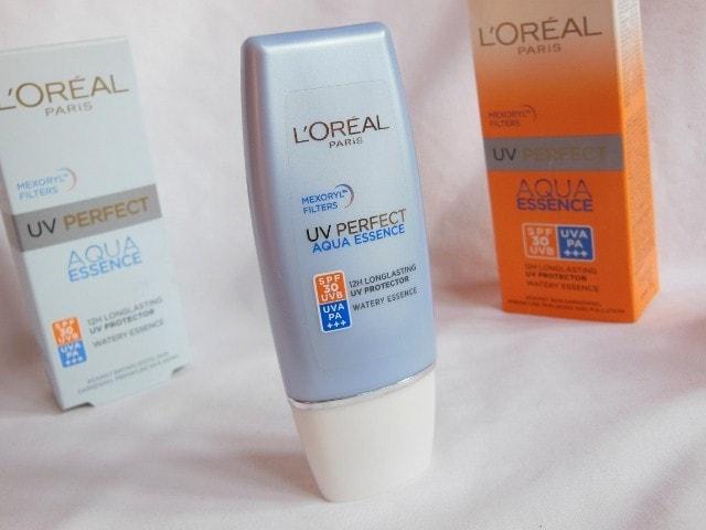L'Oreal Paris Aqua  Essence UV Perfect SPF 30 Sunscreen Review
