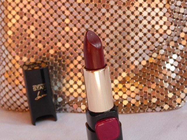 L'Oreal Paris Color Riche Star Pure Reds Pure Garnet Review