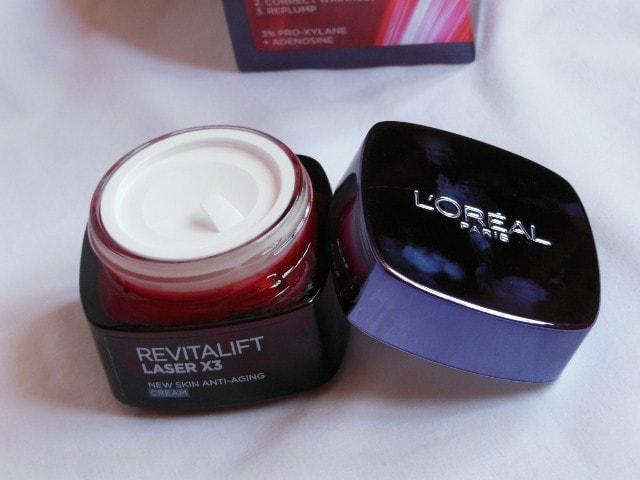 L'Oreal Paris Revitalift Laser X3 Anti Ageing Cream Packaging