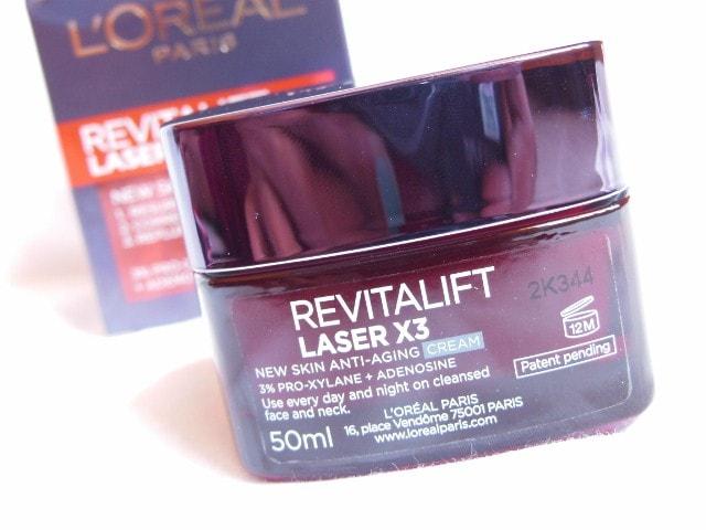 L'Oreal Paris Revitalift Laser X3 Anti Ageing Cream Review