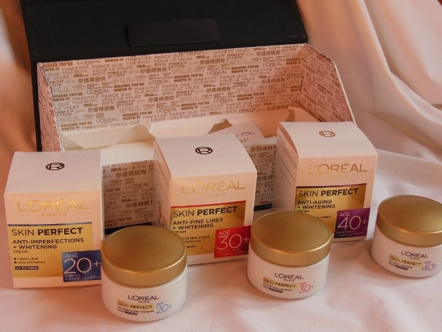 L'Oreal Skin Perfect Skin care Range for every Age