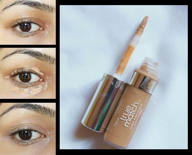 My Daily Office Makeup Routine - LOreal True Match Super blendable Concealer