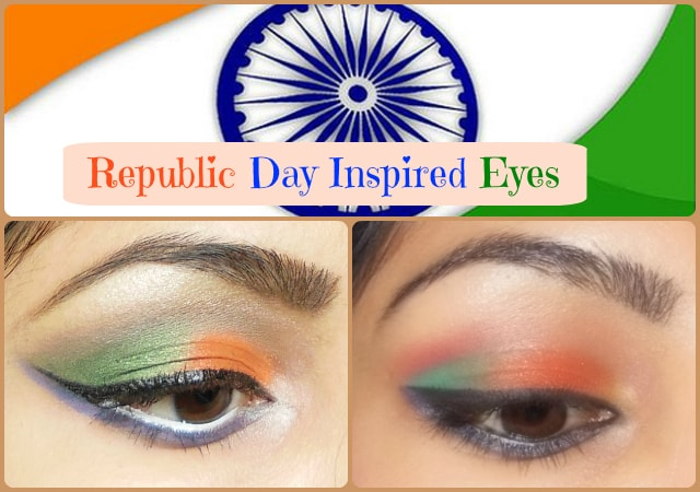 Republic Day Inspired Eyes