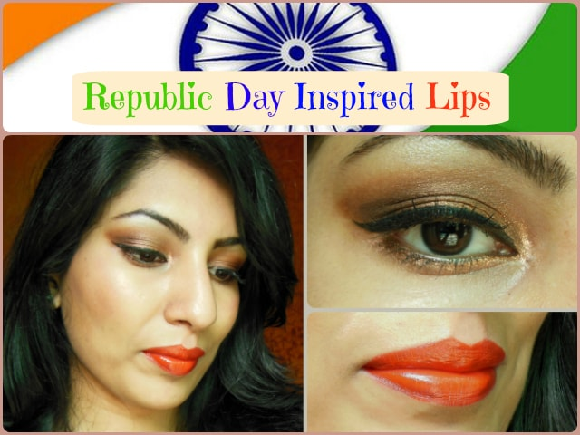 Republic Day Inspired Lips
