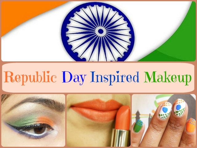 Republic Day Inspired Makeup Look