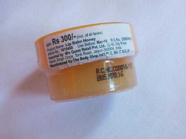 The Body Shop HoneyMania Lip Butter Price