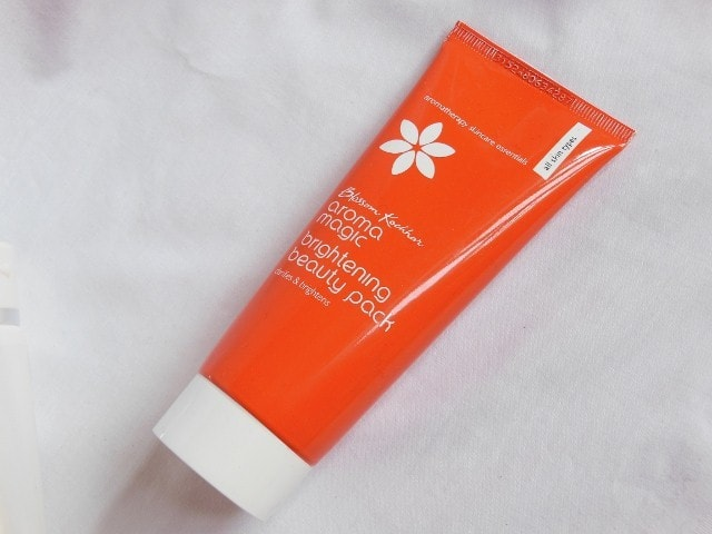 Aroma magic Brightening Face Pack Review