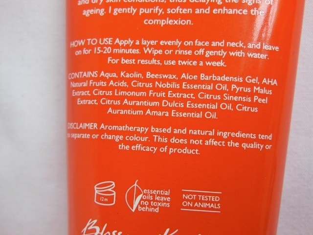 Aroma magic Brightening beauty Pack Ingredients