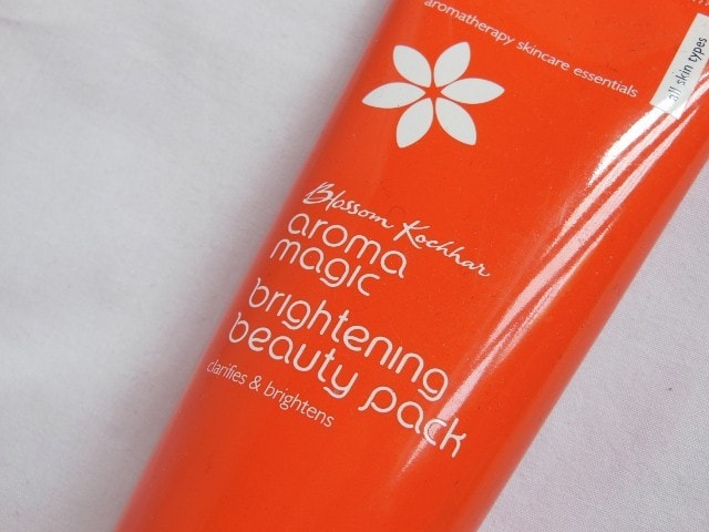 Aroma magic Brightening beauty Pack review