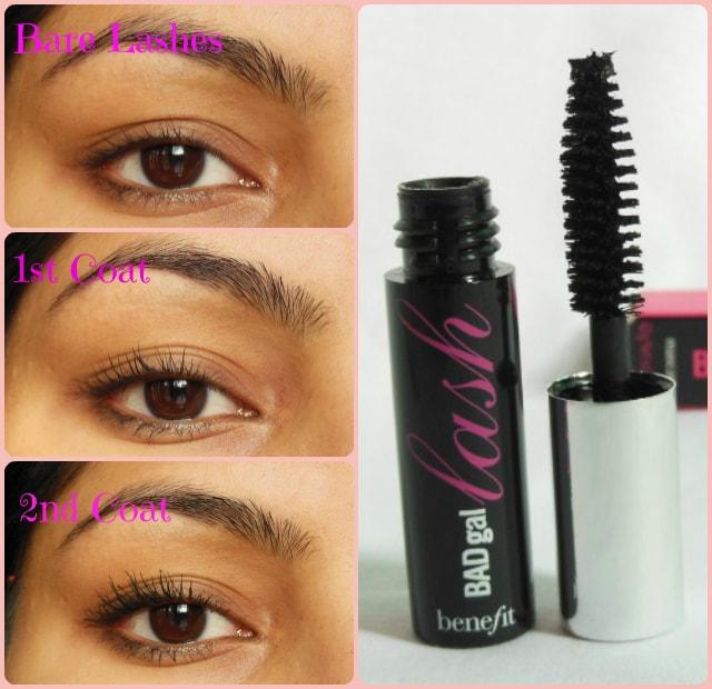 Benefit Bad Gal Mascara Swatch