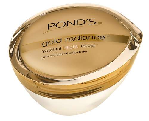 Best Night Creams for Normal - Dry Skin - Ponds Gold Radiance Night Cream
