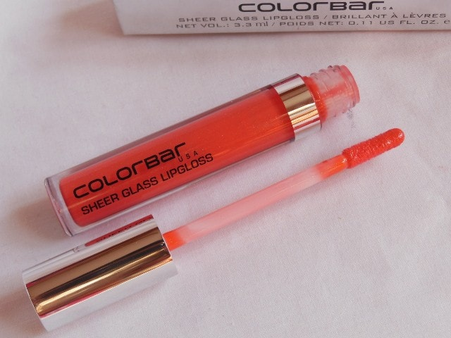 Colorbar Sheer Glass Coral Embrace Lip Gloss