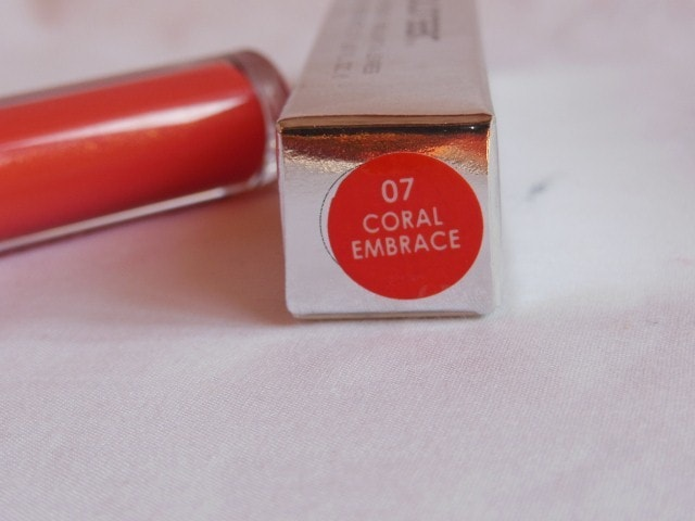 Colorbar Sheer Glass Lip Gloss Coral Embrace 07