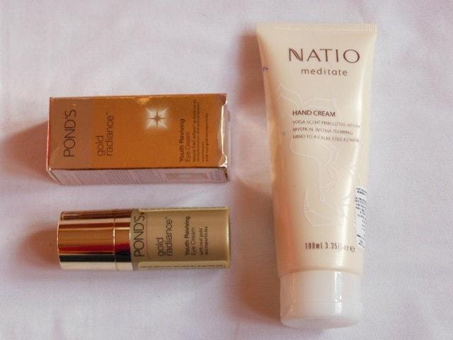 February Drugstore Haul - Skin Care from Pond's, Natio