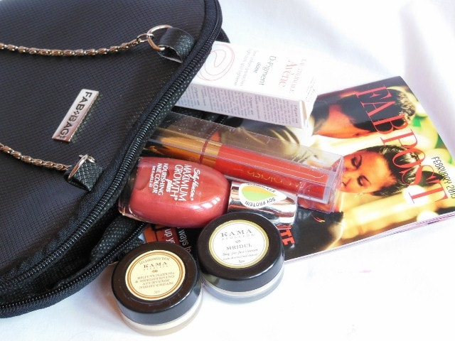 February Fab Bag Contents