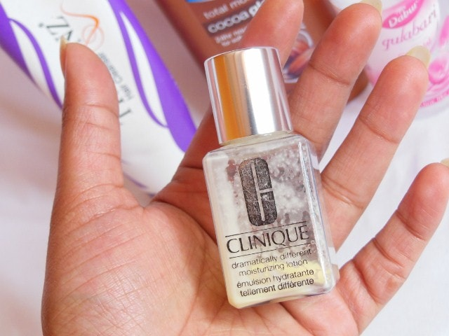Finally Finished February 2015 - Clinique Dramaticallu Different Body Lotion