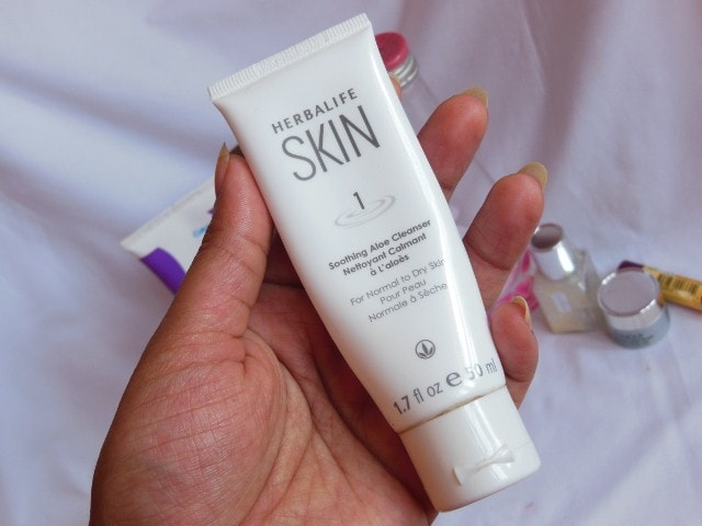 Finally Finished February 2015 - Herbalife Skin Aloe Cleanser