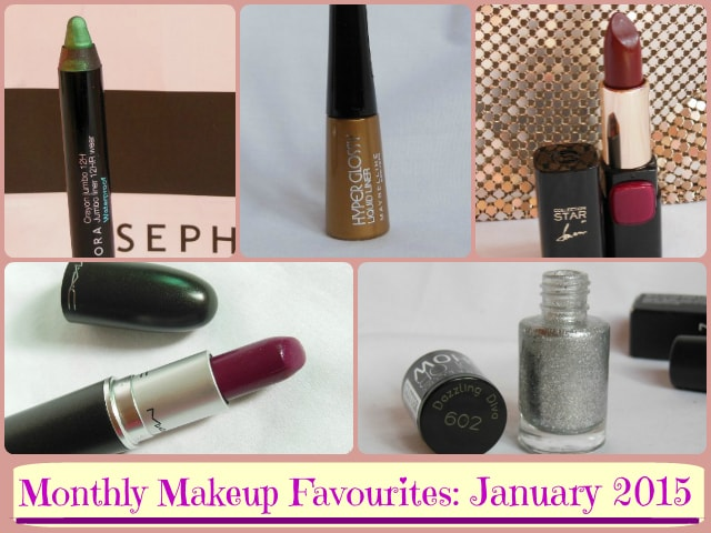 Januray 2015 Makeup Favourites