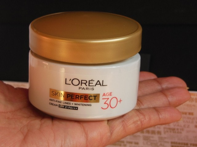 L'Oreal Paris Skin Perfect Anti Fine Lines Wrinkle and whitening cream