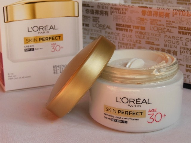 L'Oreal Skin Perfect Anti Fine Lines Wrinkle and whitening cream SPF 21