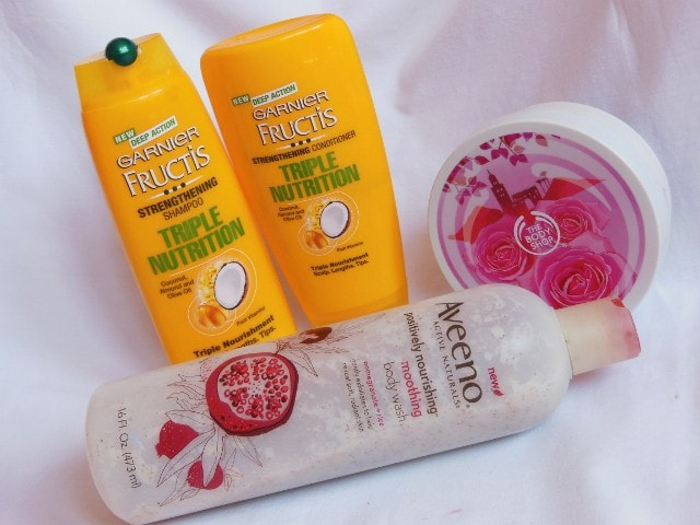 Monthly Bath and Body favourites - February 2015