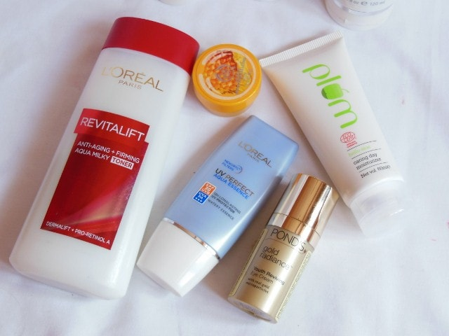 Monthly Skincare favourites - February 2015 Morning Skin care Routine