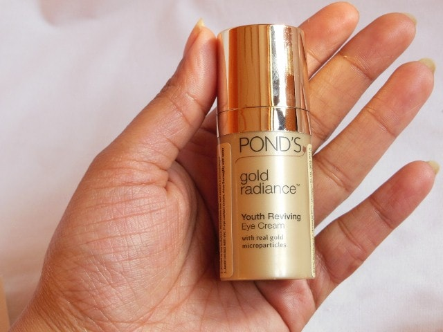 Ponds Gold Radiance Youth Reviving Eye Cream Review