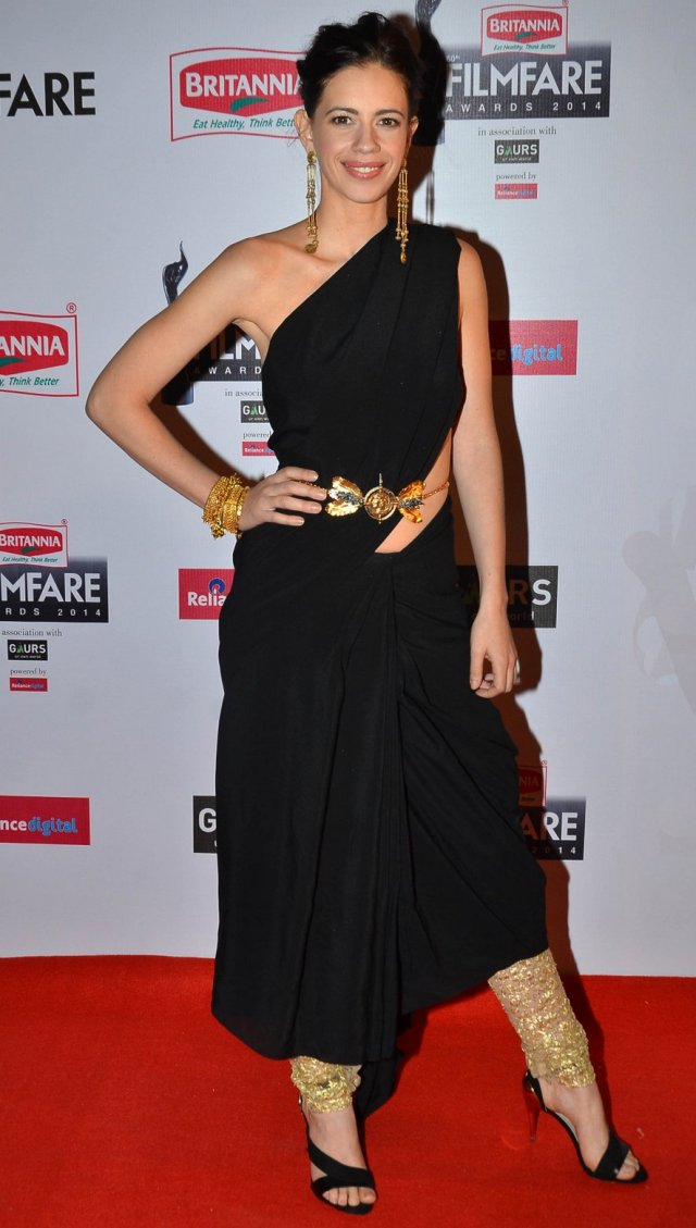 Worst Dressed at Filmfare Awards 2015 - Kalki koechlin