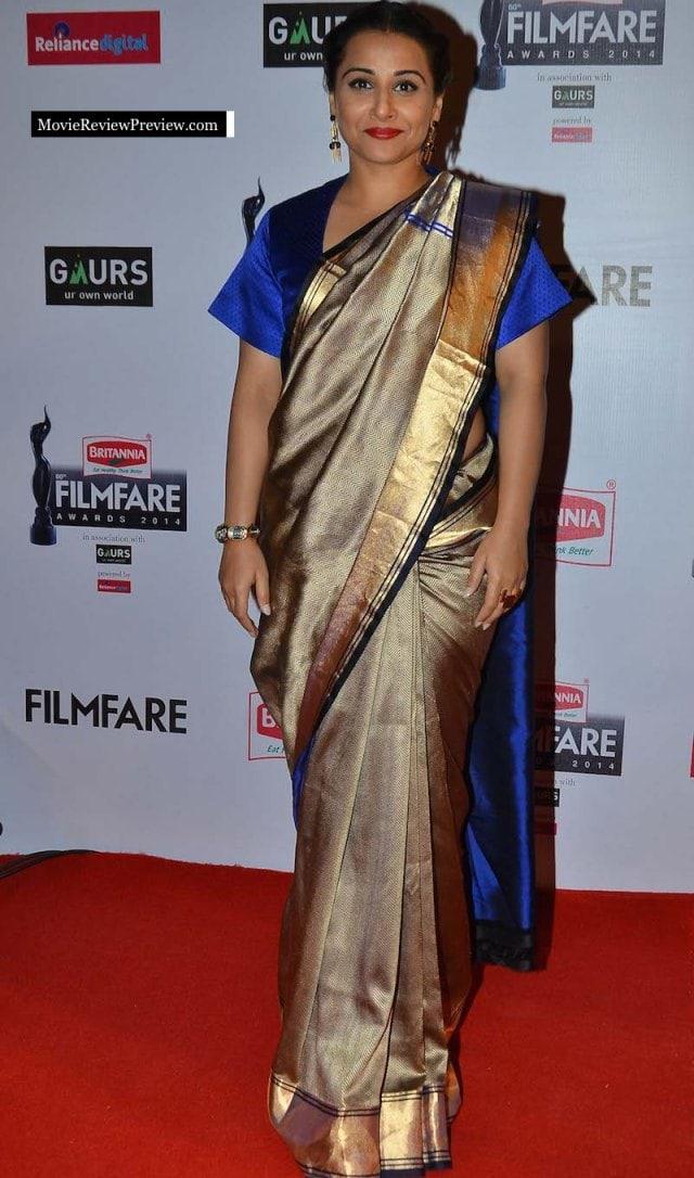Worst Dressed at Filmfare Awards 2015 - Vidya Balan