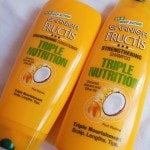 Garnier Fructis Triple Nutrition Strengthening Shampoo and Conditioner Combo