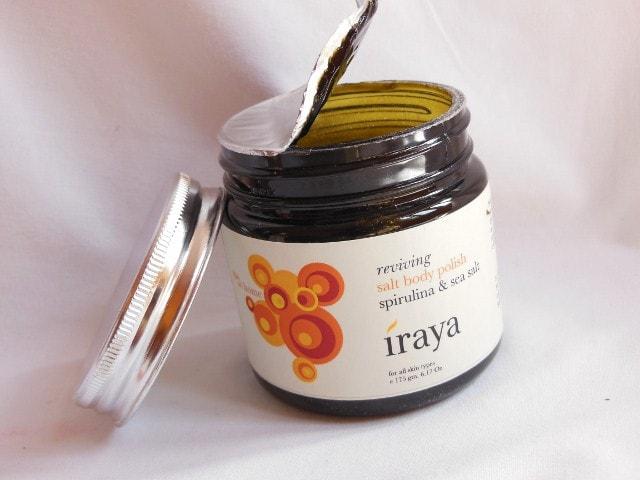 Iraya Reviving Spirulina and Sea Salt Body Polish