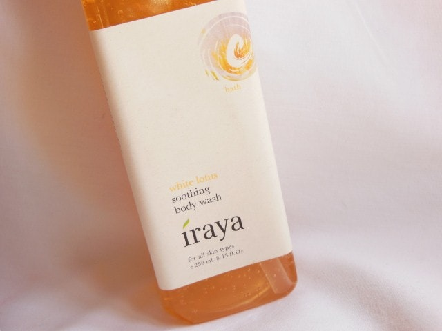 Iraya White Lotus Soothing Body Wash
